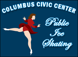 Public Ice Skating at the Columbus Civic Center