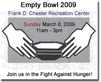 2010 Empty Bowl Fundraiser