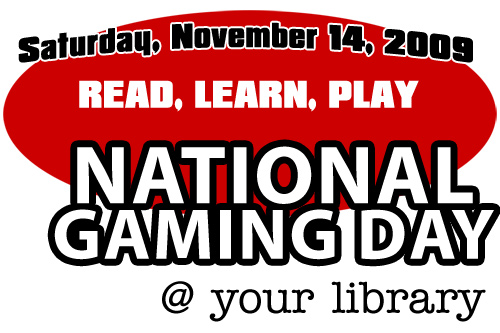 National Gaming Day at the Library
