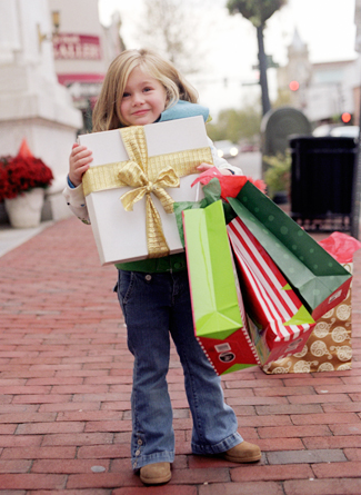 iVillage: 15 Stress-Less Ways to Shop with Kids During the Holidays