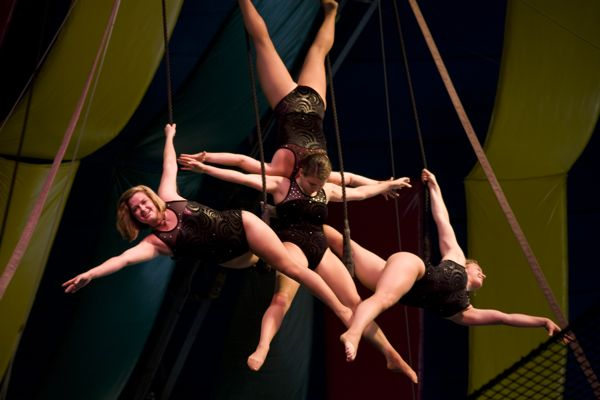 FSU Flying High Circus at Callaway Gardens
