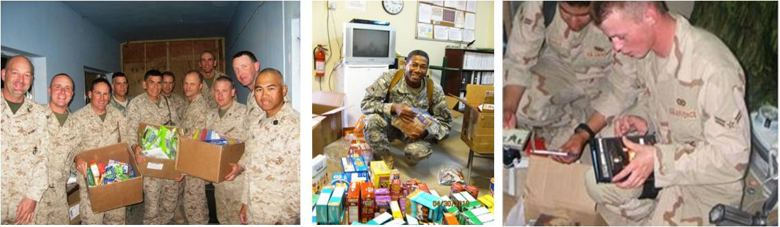 Military Care Package Collection – OPERATION Heartfelt