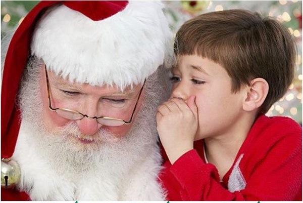 Santa Visits Riverside 2014