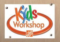 Home Depot Kids Workshop @ Home Depot