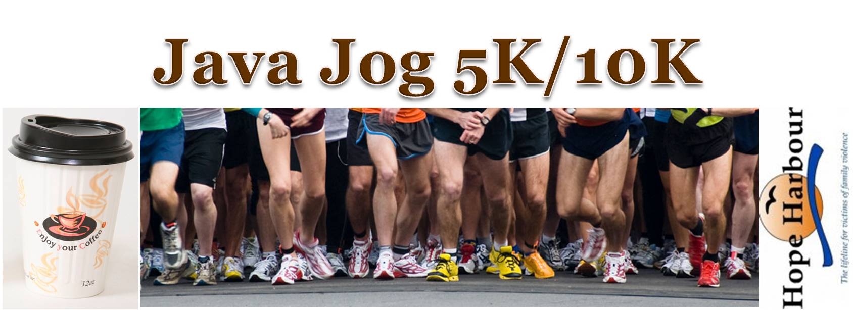 Java Jog 5K/10K-Benefitting Hope Harbour