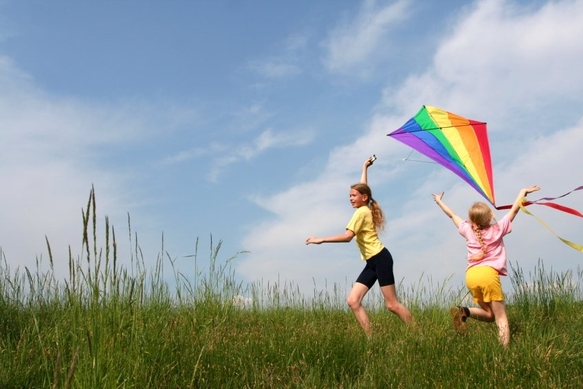 With spring just around the corner, the weather is perfect for kite flying.