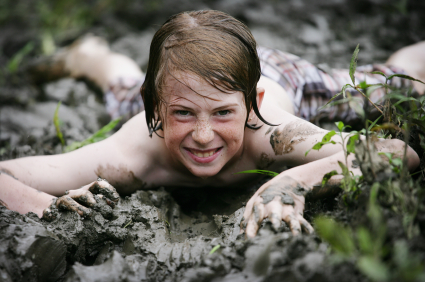 North Highland mud run