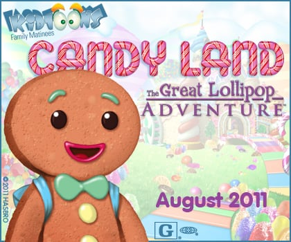 Kidtoons – Candy Land: The Great Lollipop Adventure