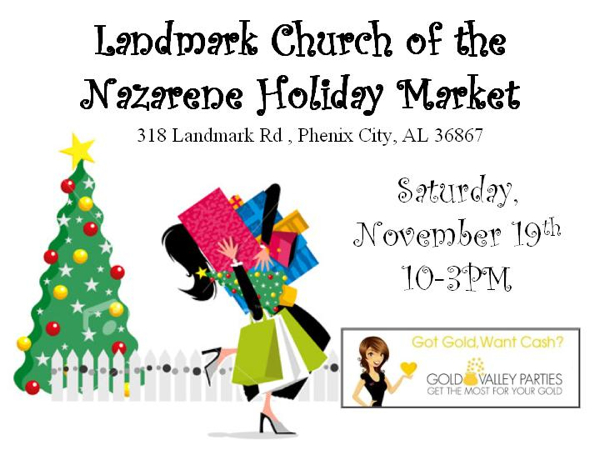 Landmark Church of the Nazarene Holiday Bazaar