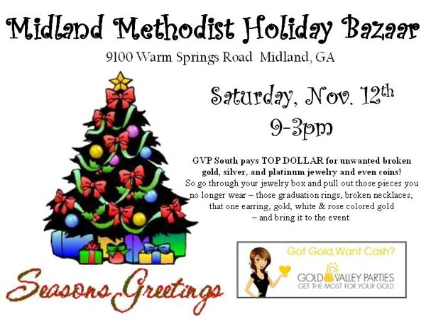 Midland Methodist Holiday Bazaar