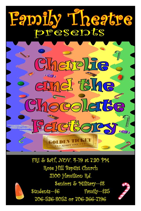 Family Theatre present Charlie & the Chocolate Factory