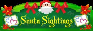 Santa Sightings