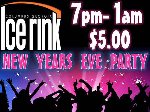 New Years Eve Party at the Columbus Ice Rink