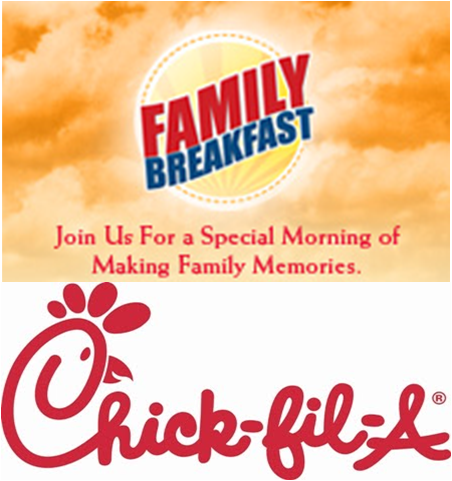 Family Breakfast Event @ Chick-fil-A Bradley Park