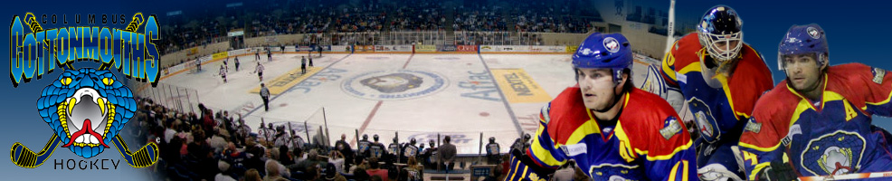 March 2012 Columbus Cottonmouths Hockey Games