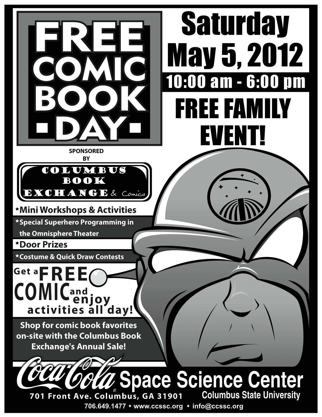 Free Comic Book Day at the CCSSC