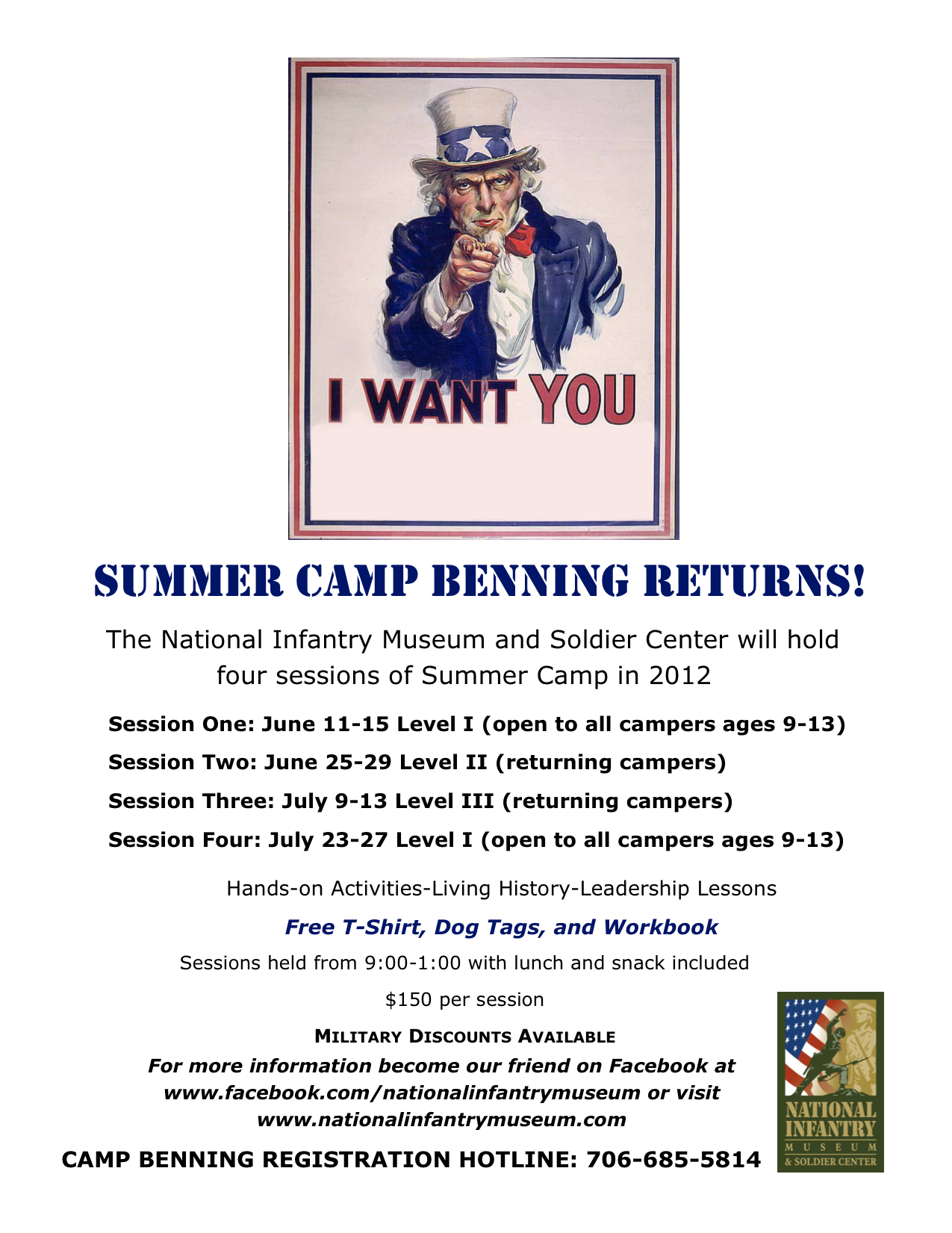 Summer Camp Benning at the NIM