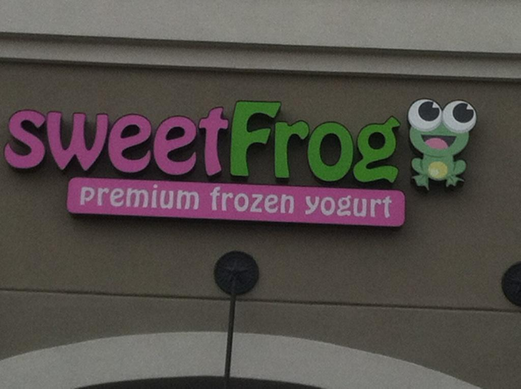 Sweet Frog to open June 2nd!