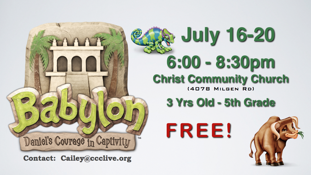 VBS: Christ Community Church 2012