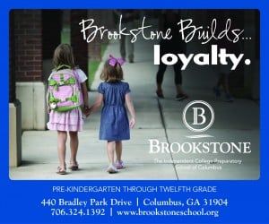 Brookstone School ad