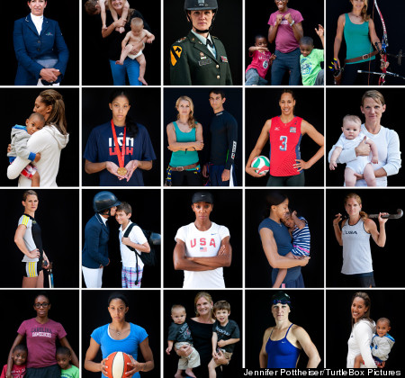 Olympic Moms on Team USA tell their stories