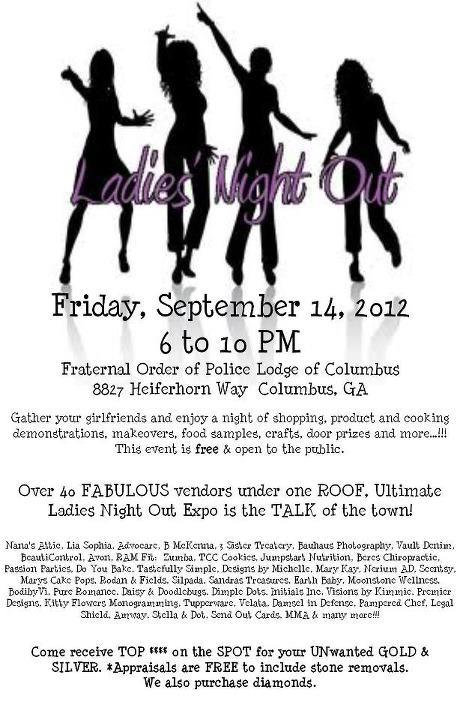 2012 Ultimate Ladies Night Out Expo