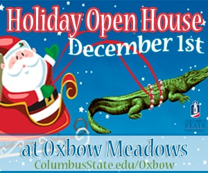 Oxbow Holiday Open House ad
