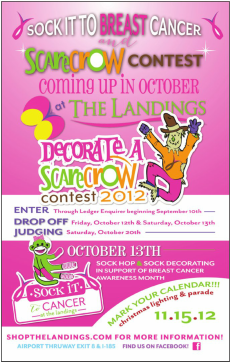 Sock It To Breast Cancer @ The Landings