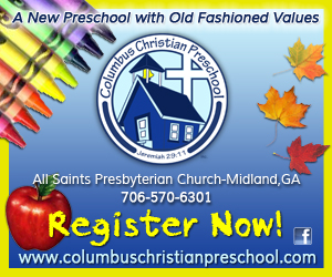 Columbus Christian Preschool Ad