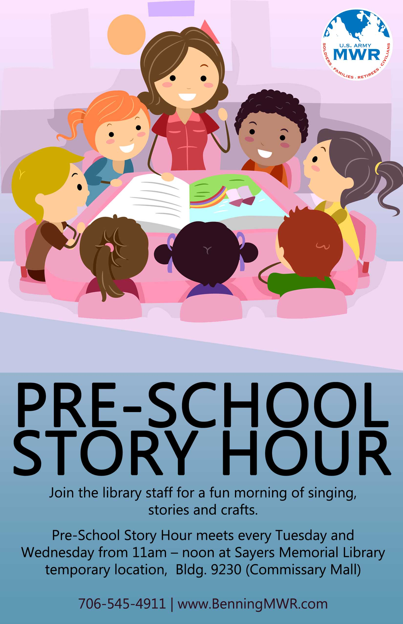 Pre-school Story Hour at Sayers Memorial Library