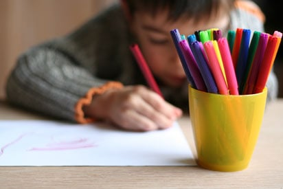 child drawing picture - Images Of Kids Drawing