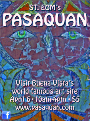 Pasaquan Opens to the Public in Buena Vista