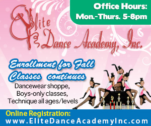 Elite Dance Fall ad