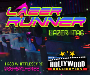 Hollywood Connections - LAZER RUNNER
