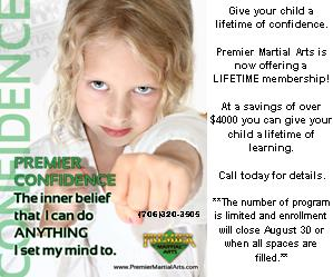Premier Martial Arts ad