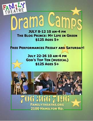 Family Theatre Drama Camps