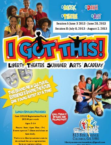The Liberty Summer Arts Academy