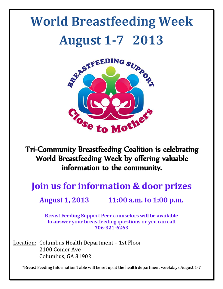 Tri-Community Breastfeeding Coalition Information Session at Columbus Health Department