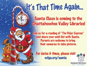 LIBRARY CHRISTMAS AD
