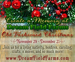 christmas at Dream Field Farms