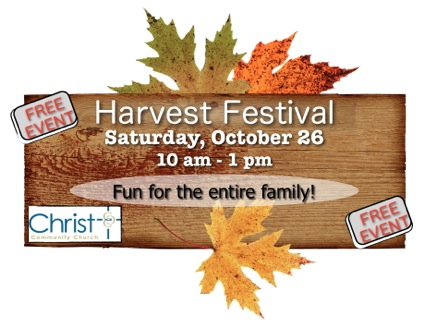 Harvest Festival at Christ Community Church