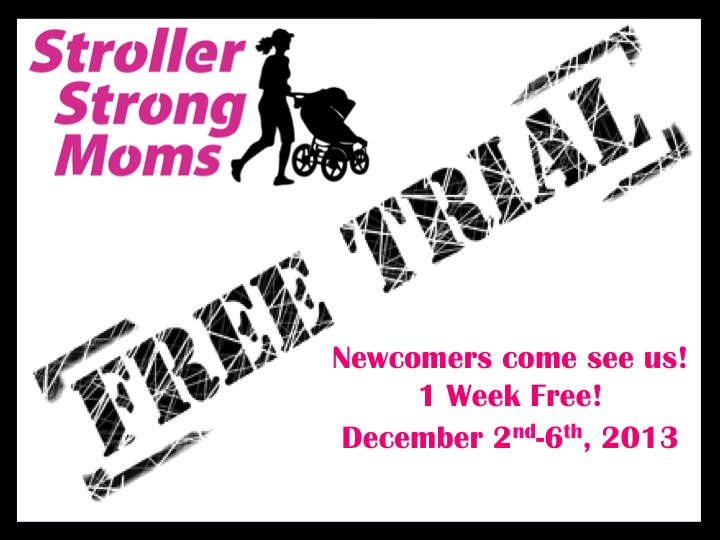 Stroller Strong Moms Free Trial Week