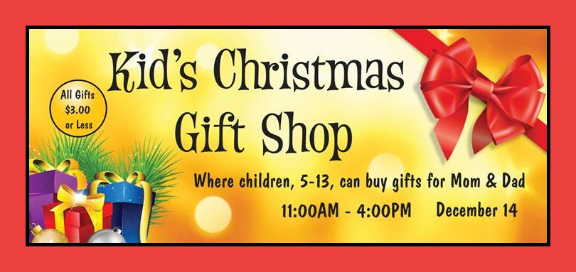 Kid\'s Christmas Gift Shop at Reformation Lutheran Church - Muscogee ...