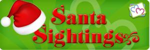 Santa Sightings 2013