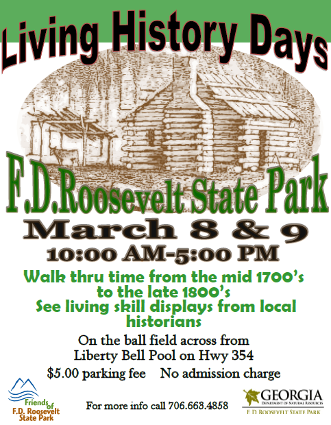 Living History Weekend (FDR State Park)