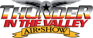Thunder in the Valley Airshow logo