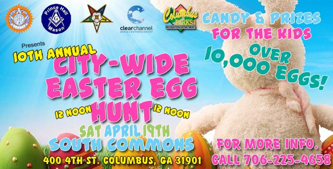 10th Annual City-Wide Easter Egg Hunt