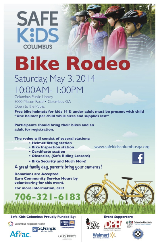 Safe Kids Bike Rodeo 2014