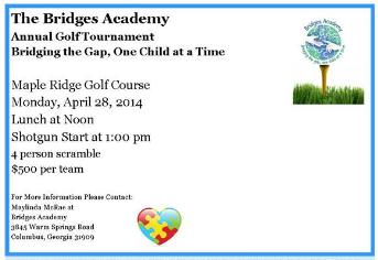 Bridges Academy Annual Golf Tournament Fundraiser