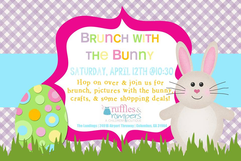 Brunch With The Bunny at Ruffles & Rompers